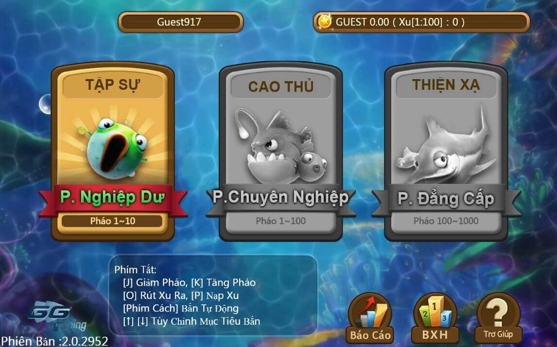 Hướng dẫn chơi bắn cá ăn tiền Fishing World - Bắn cá ăn tiền thật